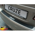 Накладки на бампер CHEVROLET CRUZE 4D 2008- Карбон Nataniko