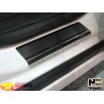 Накладки на пороги CHEVROLET CRUZE 4D / 5D 2008- / 2011- Premium NataNiko