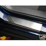 Накладки на пороги MAZDA CX-5/FL 2012-/2014- Premium NataNiko