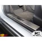 Накладки на внутренние пороги MAZDA CX-5/FL 2012-/2014- Premium NataNiko