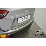 Накладки на бампер с загибом  MAZDA CX-5 2012- Premium NataNiko