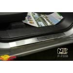 Накладки на пороги FIAT DOBLO II/III CARGO MAXI 2010- / 2015- Premium NataNiko