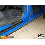 Накладки на пороги FIAT DOBLO I 2000-2010 Premium NataNiko