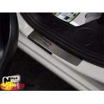 Накладки на пороги FIAT 500 L 2013- Premium NataNiko
