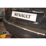 Накладки на бампер с загибом  RENAULT FLUENCE 2010- NataNiko