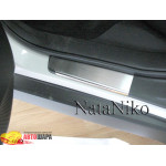 Накладки на пороги SUBARU FORESTER III 2008- Premium NataNiko