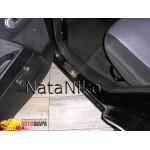 Накладки на пороги FORD FUSION 2002- Premium NataNiko