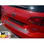 Накладки на бампер Volkswagen GOLF VII VARIANT 2012- NataNiko