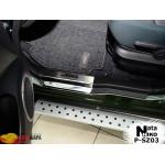 Накладки на пороги SUZUKI GRAND VITARA II 5D 2005- Premium NataNiko