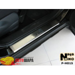 Накладки на пороги HONDA CR-V III 2007- Premium NataNiko