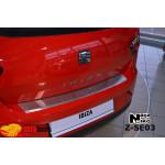 Накладки на бампер с загибом SEAT IBIZA IV 3D FL 2012- NataNiko