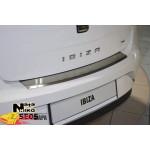 Накладки на бампер с загибом SEAT IBIZA IV 5D 2009- NataNiko