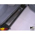 Накладки на пороги RENAULT LAGUNA III 2007- Premium NataNiko