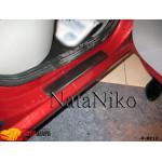 Накладки на пороги RENAULT LOGAN II 2010- Premium NataNiko