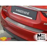 Накладки на бампер MAZDA MAZDA 6 III 2013- Premium NataNiko