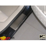 Накладки на пороги RENAULT MEGANE II 5D 2002-2009 Premium NataNiko