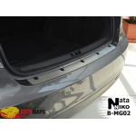 Накладки на бампер MG 6 4D 2013- Premium NataNiko