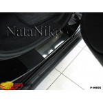 Накладки на пороги MERCEDES ML (W164) 2005-2011 Premium NataNiko