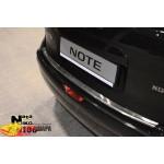 Накладки на бампер с загибом  NISSAN NOTE 2006- Premium NataNiko