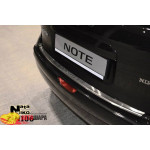 Накладки на бампер с загибом  NISSAN NOTE 2006- NataNiko