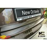 Накладки на бампер Skoda OCTAVIA III A7 2013- NataNiko