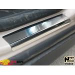 Накладки на пороги CHEVROLET ORLANDO 2011- Premium NataNiko