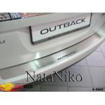 Накладки на бампер SUBARU OUTBACK IV 2009- Premium NataNiko