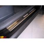 Накладки на пороги Volkswagen PASSAT B6 /CC/B7 2005- / 2008 Premium NataNiko