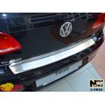 Накладки на бампер с загибом  Volkswagen PASSAT B7 4D 2010- NataNiko