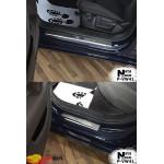 Накладки на пороги Volkswagen PASSAT B8 4D/Variant 2014- Premium NataNiko