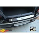 Накладки на бампер Volkswagen PASSAT CC 2008- NataNiko