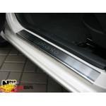 Накладки на пороги KIA PICANTO II 2011- Premium NataNiko