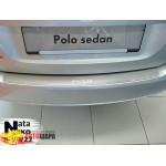 Накладки на бампер Volkswagen POLO V 4D 2009- NataNiko