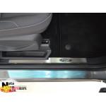 Накладки на внутренние пороги FORD KUGA II 2013- Premium NataNiko
