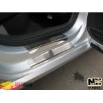 Накладки на пороги Volkswagen POLO V 4-5D 2009- Premium NataNiko