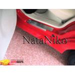 Накладки на пороги CHERY QQ 2008- Premium NataNiko