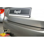 Накладки на бампер Skoda RAPID 2013- NataNiko