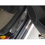 Накладки на пороги TOYOTA RAV-4 III 2006- Premium NataNiko