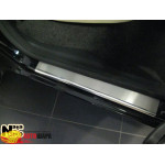 Накладки на пороги SKODA ROOMSTER 2006- Premium NataNiko