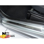 Накладки на пороги SMART FORTWO 2008-2014 Premium NataNiko