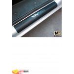 Накладки на пороги OPEL VIVARO 2001- Premium NataNiko