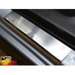 Накладки на пороги SUBARU XV 2012- Premium NataNiko