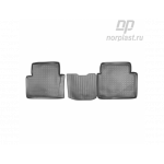 Ковры салона Nissan Qashqa+2 зад (08-) полиуретановые NPL-Po-61-63 - NorPlast