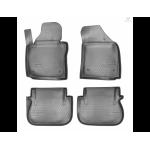 Коврики Volkswagen Caddy III (04-15) (2 задн.сдвижные двери) полиуретановые к-т - Norplast