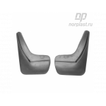 Брызговики Opel Zafira C Tourer (12-) задние комплект - Norplast