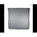 Коврик в багажник Chevrolet Aveo седан (11-) резиновые Norplast