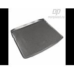 Коврик в багажник Chevrolet Cruze хетчбек (11-) резиновые Norplast