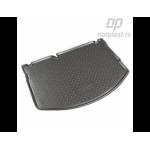Коврик в багажник Citroen DS3 хетчбек (10-) резиновые Norplast
