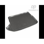 Коврик в багажник Dodge Caliber (06-) резиновые Norplast