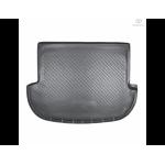 Коврик в багажник Hyundai Santa Fe New (06-10) полиуретан - Norplast